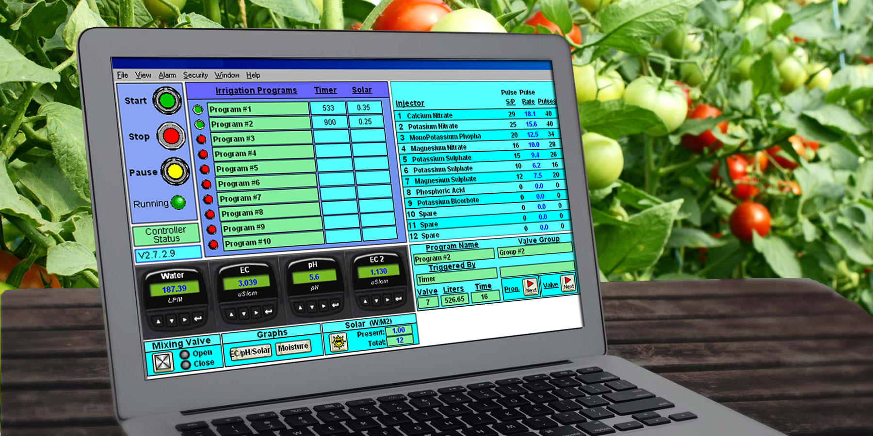 Greenhouse Automation Software
