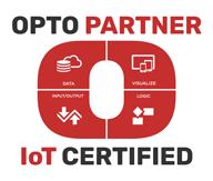 Opto22 IoT Certified Partner Seal