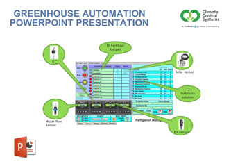 Greenhouse Automation PowerPoint Download