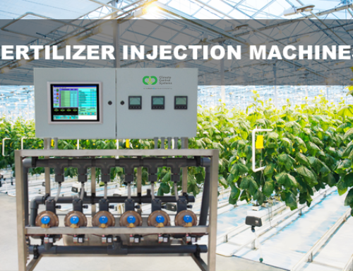 Greenhouse fertilizer injection machines