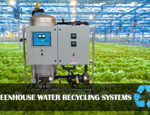 Greenhouse Irrigation Water Recycling System – Ozone Pro