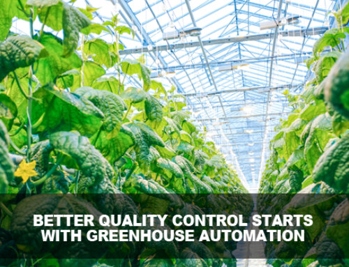Management of the Greenhouse Environment for Quality Control