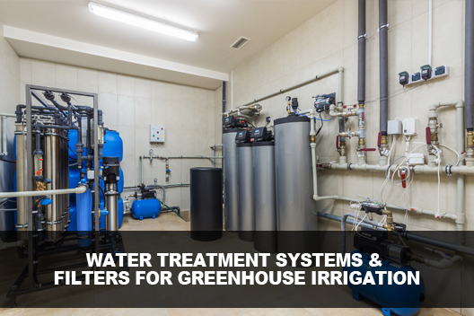Water Recycling And Treatment For Greenhouse Irrigation