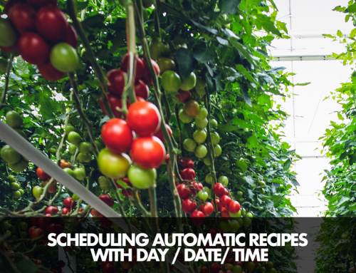 Automatic Recipe Schedule with Date-Time-Days