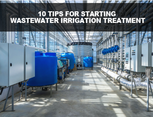 10 tips for Wastewater Irrigation Treatment