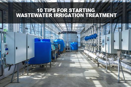 Wastewater Irrigation Treatment